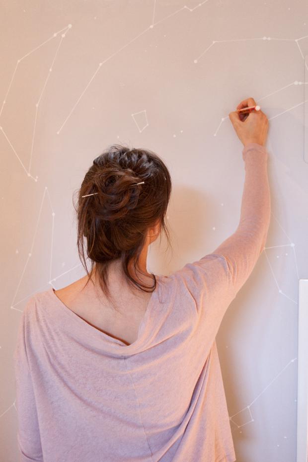C mo pintar tus paredes de forma original - Como pintar una casa por primera vez ...