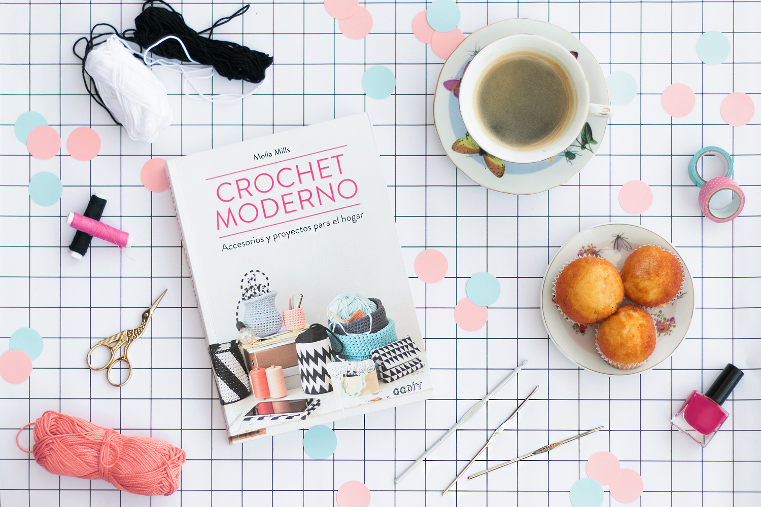 """Crochet Moderno"" ggdiy. Visto en ""I am a Mess Blog"""