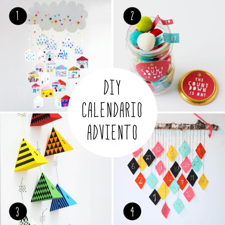 8 Ideas DIY, para hacer tu calendarios de adviento de colorines!