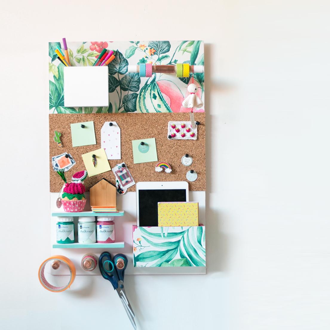 Organizador de pared diy hazlo tu misma - Organizador de escritorio ...